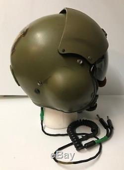 Gentex SPH-4 Pilot's Aviator's Flight Helmet Size Regular US Customs & Border