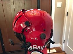 Gentex SPH5 helicopter pilot flight helmet size XL