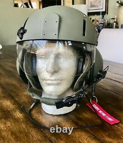 Gentex Sph-4b Helicopter Pilot Flight Helmet Sph4 Sph Hgu