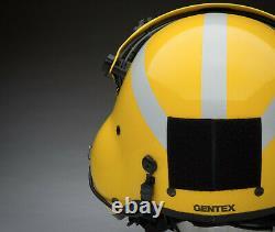 Gentex Sph 5- Helicopter Pilot Aircrew Pilot Flight Helmet Large-xlarge