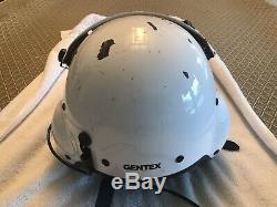 Gentex Sph-5 Pilot Helicopter Aircrew Flight Helmet Size XL