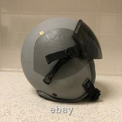 Gentex USAF Aircrew Pilot HGU-55/P Aviation Flight Helmet Size Medium 1986 80s