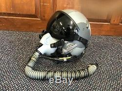 Gentex USAF Pilot's HGU-55/P Flight Helmet, Oxygen Mask
