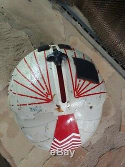 Genuine 1980s Navy/ Marine PRK-37/P Fighter Pilot's Flight Helmet + Patch & Book