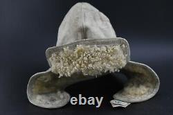 German Ww2 Luftwaffe Pilot Leather Hat Cap Helmet Prym Flight Aviator Hat Wwii