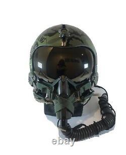 HGU 26/p original gentex pilot flight helmet. Vietnam F4 Replica
