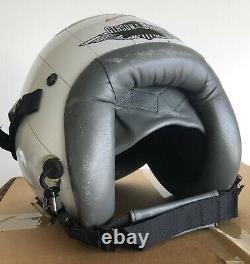 HGU-55/P Pilot Flight Helmet Gentex Size LARGE Gibson & Barnes