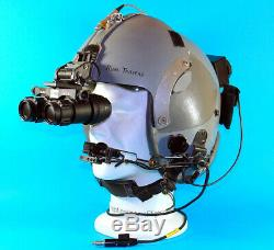 HGU 55 WITH NVG MOUNT AND ANVIS 6/9 REPLICA GOGGLES Flight-helmet JET Pilot