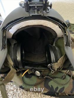 HGU 56P Small HELICOPTER PILOT FLIGHT HELMET Gentex With Bag