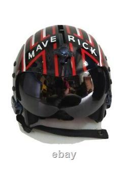 Hgu 33 Style Topgun Maverick Flight Helmet / Aviator Fighter Pilot Repro