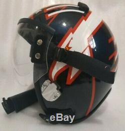 Hgu 55 Style Topgun Maverick Flight Helmet / Aviator Fighter Pilot Repro