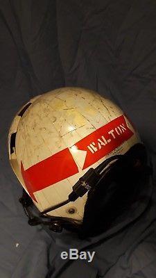 Hgu33, Gentex, Pilot Helmet, Used, Flight Helmet, Usn