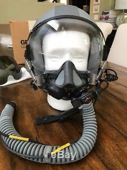 Hgu55 Gentex Flight Helmet Hgu 55/p Mbu20p Oxygen Mask Visors Fighter Pilot Mbu