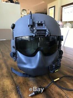 Hgu56 Gentex Flight Helmet, Itt Sidecar Nvg, Mfs Shield Hgu 56 Pilot Helicopter