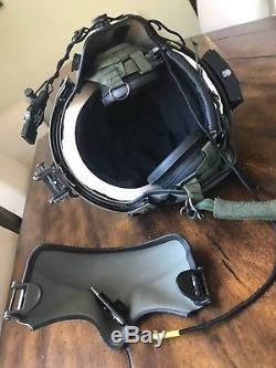 Hgu56 Gentex Flight Helmet Nvg, Mfs Shield Hgu 56p Helicopter Pilot Medium