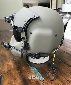Hgu56 Gentex Flight Pilot Helmet & Nvg Mfs Cep Bundle Bag Large Hgu 56