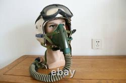 High Altitude Air Force F-7B Fighter Pilot Flight Helmet