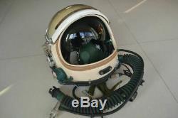 High Altitude Air Force Fighter Pilot Flight Helmet, Pressure Anit Grivty Suit