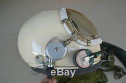 High Altitude MiG-23 Pilots Pressure Helmet, Flight Suit BKK-15K