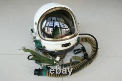 High Altitude Mig Fighter Pilot Flight Helmet ++ Pull-down Face Shield