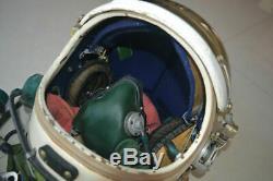 High-altitude MiG Fighter Pilot Aviation Flight Helmet