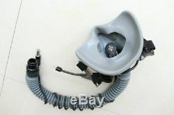 Korea Air force fighter pilot HGU-55/P flight helmet + oxygen mask MBU