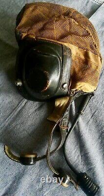 Luftwaffe Flight Helmet Netzkopfhaube Ultra Rare Tropical Mesh Pilot FW190 Bf109