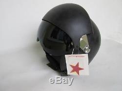 MIG 2-V Flight Helmet Pilothelmet Jethelm Bell Kampfjet F-15 F-16 US Army SW MED