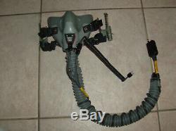 Mask Oxygen Mbu-14 Flight Helmet Pilot Size Regular