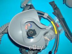 Mask Oxygen Mbu-20 C. E Pilot- Hgu-55 Flight Helmet Mask Oxygen