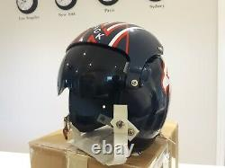 Maverick Top Gun Gentex Hgu-26 Movie Prop Replica Flight Pilot Helmet Naval