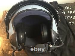 Medium Size Alpha Eagle Civilian Helicopter Rotary Pilots Flying Flight Helmet
