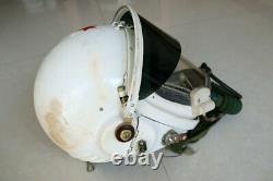 MiG-21 Fighter Pilot Flight Helmet, black Sunvisor + Pressure Fly suit