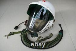 Mig-21 Fighter Aviator Pilot Aircraft Aviation Flight Helmet Tk-1