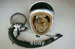 Mig-21 fighter pilot flight helmet, black sunvisor