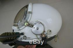 Militaria Aviation Aviator Air Force MiG Fighter Pilot Flight Helmet, Oxygen Mask
