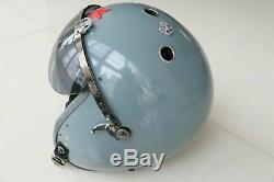 Militaria Aviator Air Force Fighter Pilot Aviation Flight Helmet, Helicopter Cap