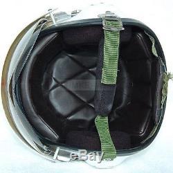 Motorcycle/Scooter helmet & Air force Jet Pilot flight helmet Matte black
