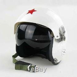 Motorcycle/Scooter helmet & Air force Jet Pilot flight helmet White