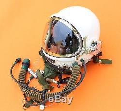 NEW Flight Helmet High Altitude Astronaut Space Pilots Pressured SIZE1# XXL BAG
