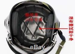 NEW Motorcycle Open Face Helmet Five Star Air Force Jet Pilot Flight Helmet 1