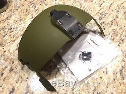 NVG Visor Cover for HGU-56 Helicopter MedEvac Pilot Flight Helmet not APH