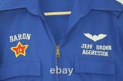 Named Desert Storm Lt. Colonel Fighter Pilot Flight Suit and Pilot Helmet, h02