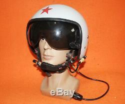 Navy K-52 Flight Helmet Air Force Helicopter Pilot Helmet Russia 0202