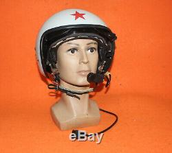 Navy K-52 Flight Helmet Air Force Helicopter Pilot Helmet Russia 02020