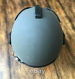 New Complete Hgu84p Gentex Large Pilot Flight Helmet & Hgu 84 Bag
