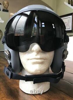 New Hgu55 55 Gentex XL Pilot Flight Helmet & Bag Hgu