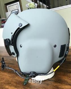 New Hgu56 Gentex Flight Pilot Helmet & Nvg Mfs Bundle Bag Large Hgu 56
