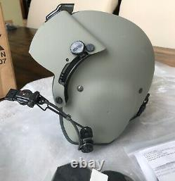 New Hgu56 Gentex Pilot Flight Helmet Loaded Cep Kit Helicopter Hgu Medium