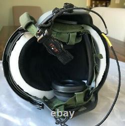 New Hgu56p Pilot Flight Helmet Maxillofacial Mfs Shield Cep Kit Hgu 56 Large